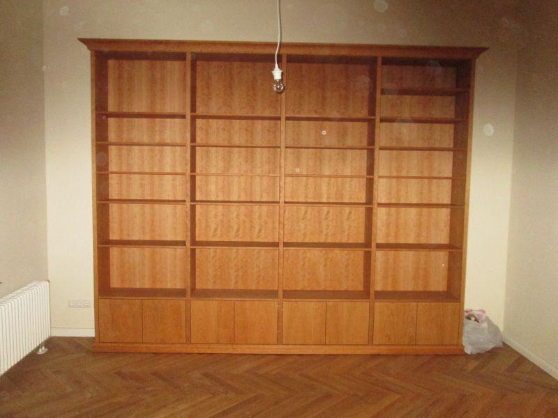 Bücherregal, Kirschbaum furniert