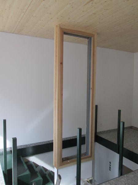 Rahmen aus Esche, geölt