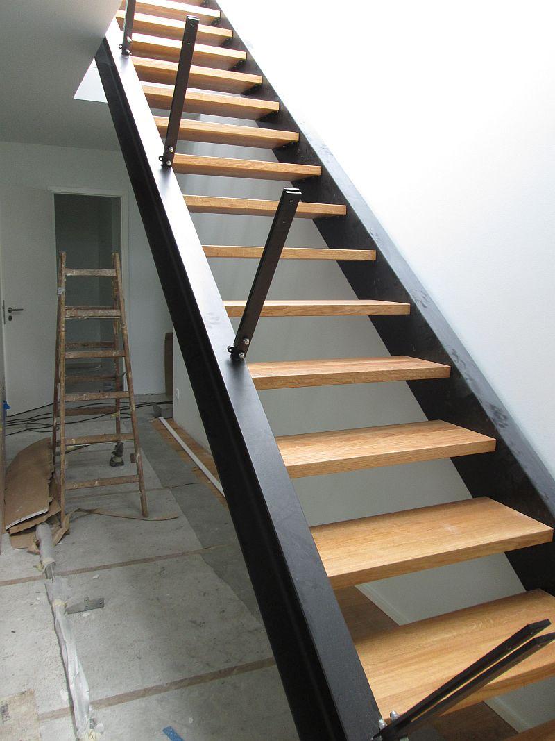 Zweiholmtreppe - Vorderansicht