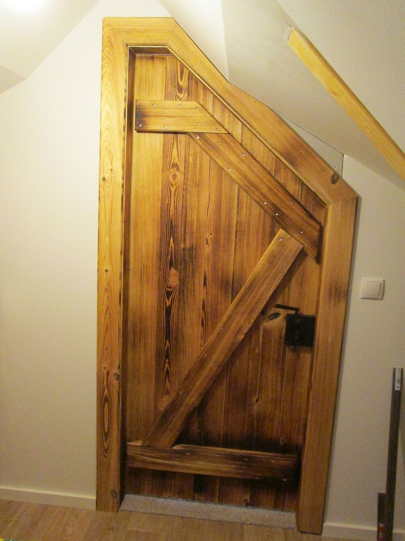 Tür rustikal