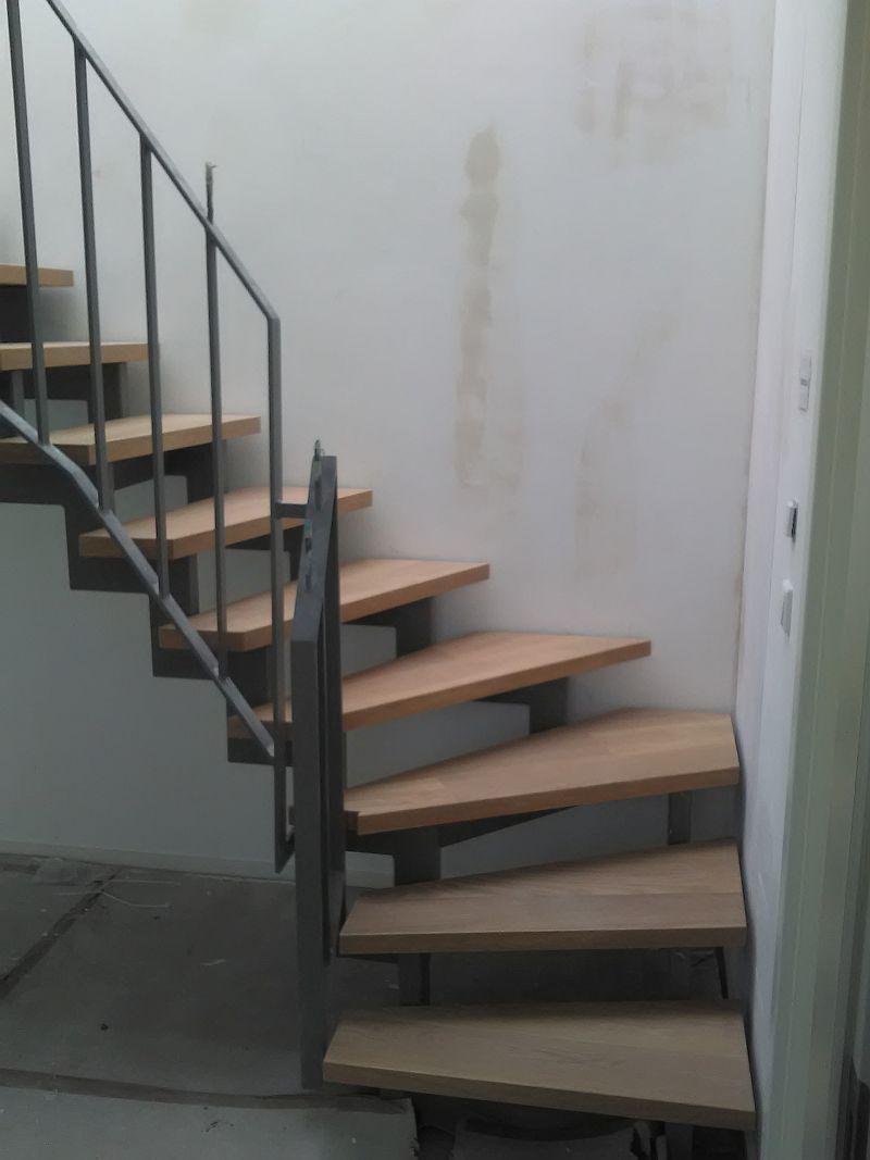 Treppenstufen Goslarer Ufer Detail
